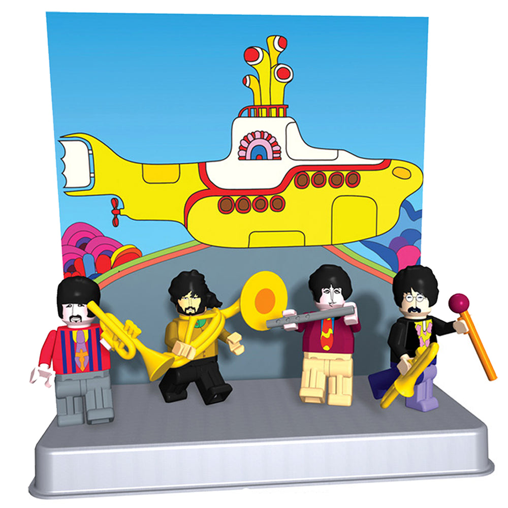 Beatles Collectibles: 2012 K'NEX Yellow Submarine Mini Figures Series 1