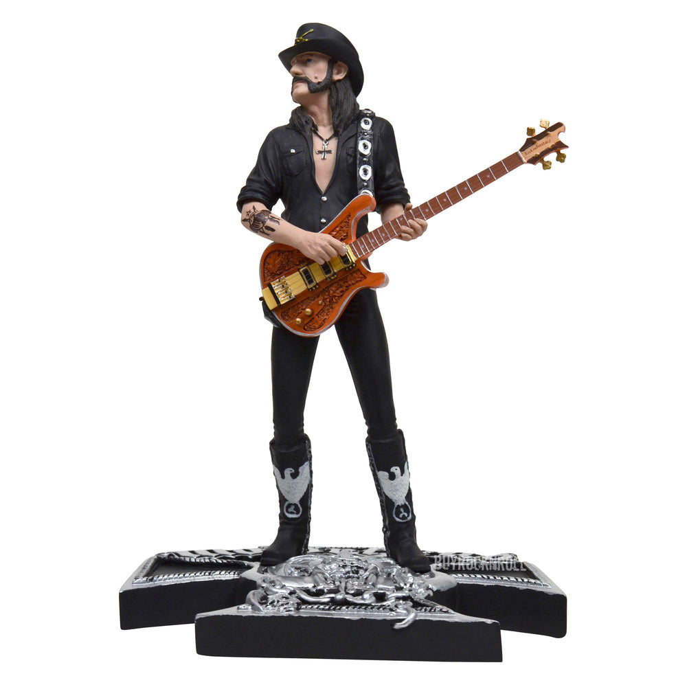 Motorhead Collectible: 2013 KnuckleBonz Rock Iconz Lemmy Kilmister Statue #683