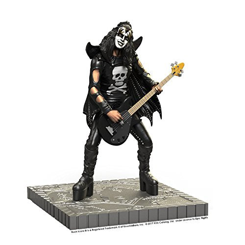 KISS Collectibles:2017 KnuckleBonz Rock Iconz Hotter Than Hell Demon Statue #26