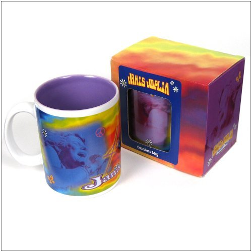 Janis Joplin Rare Collectible 2000 Vandor Tie Dye Ceramic 18 oz Coffee Mug