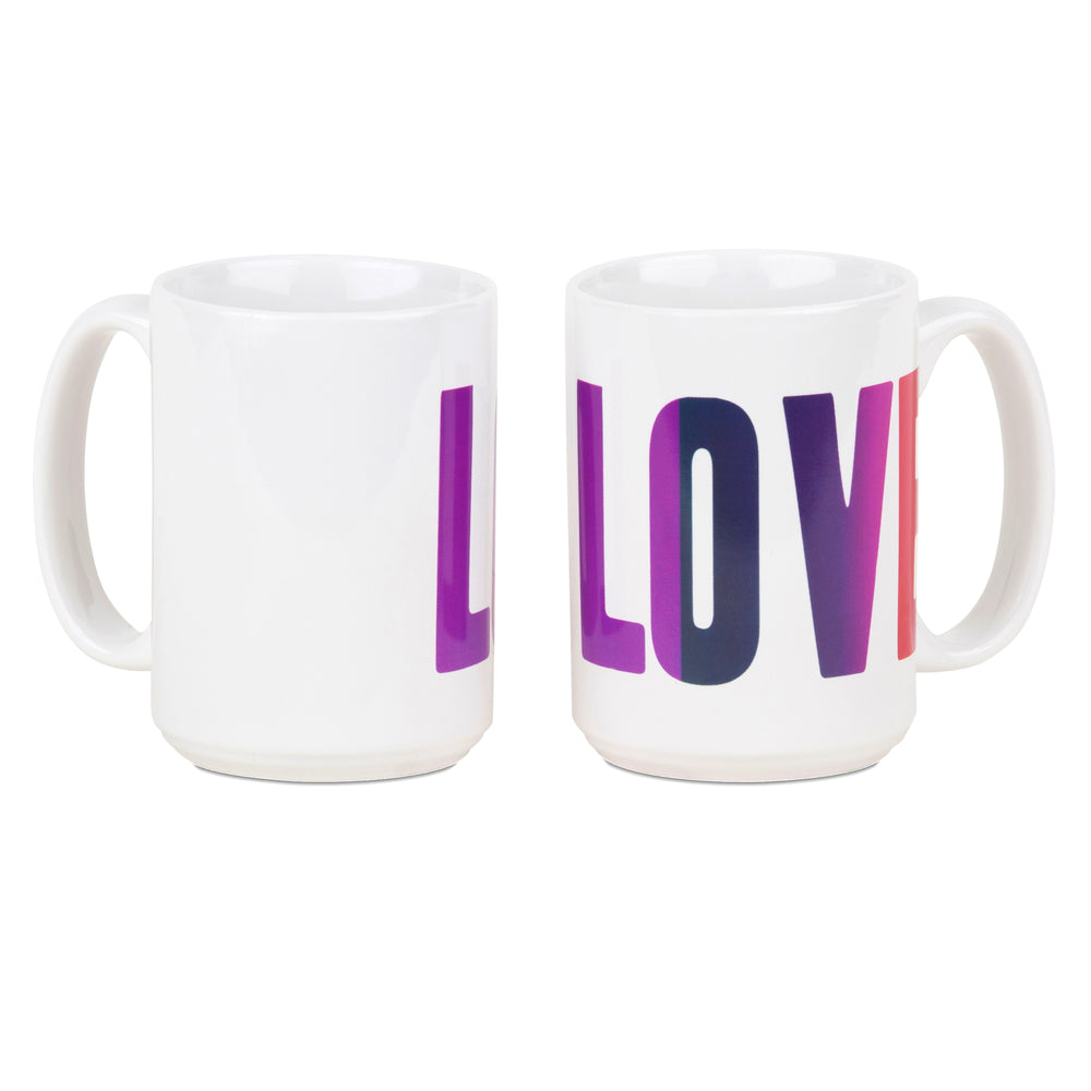 Summer of Love/Monterey Pop - Peace, Love & Happiness Mug Set of 3 (not 6)