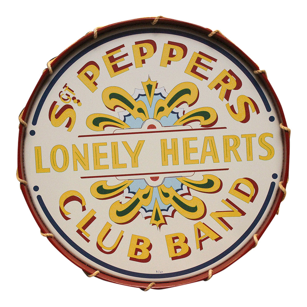 Beatles Collectible: 2017 Sgt Peppers Lonely Hearts Club Band 50th Anniversary Drum Ltd Ed 67*