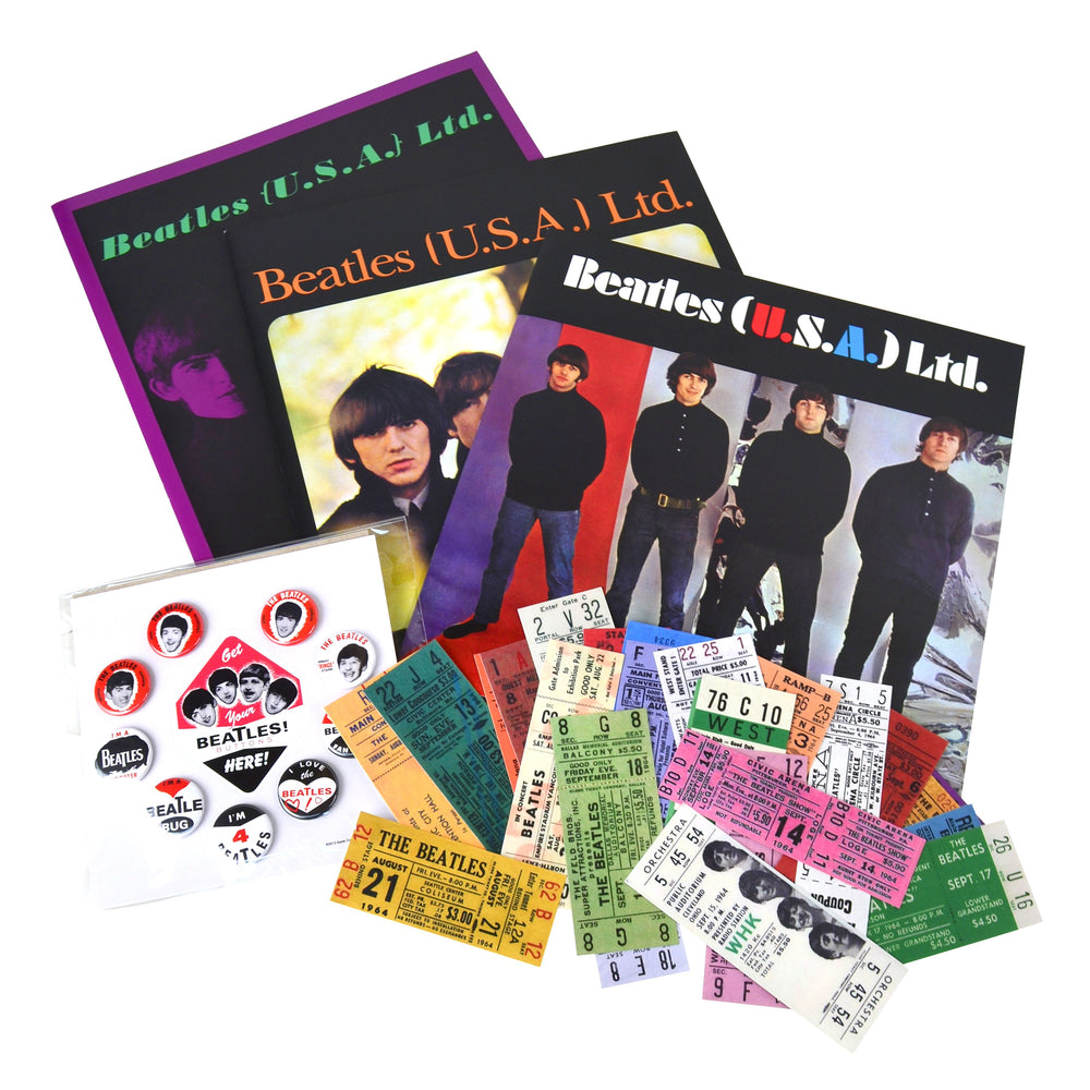 Beatles Collectible: 1964 50th Anniversary Concert Memorabilia Box Set