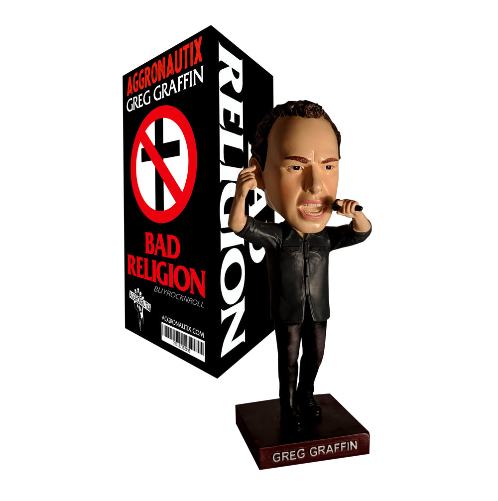 Bad Religion Collectible 2019 Aggronautix Greg Graffin Throbblehead LTD (Bobble)