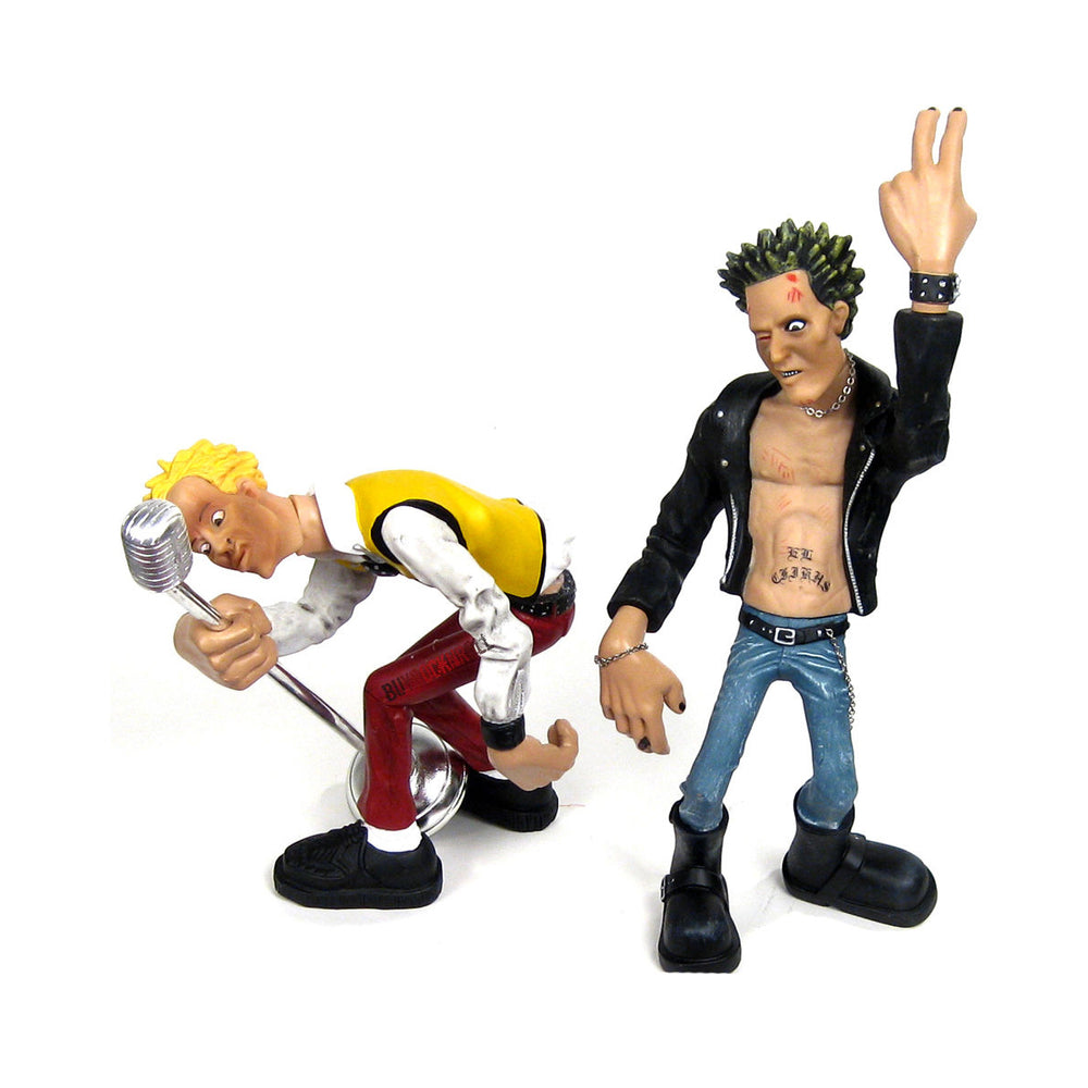 Sex Pistols Collectibles: 2003 CBGB Punx Club Figures - Maxx & Badd Apple  aka Sid Vicious and Johnny Rotten