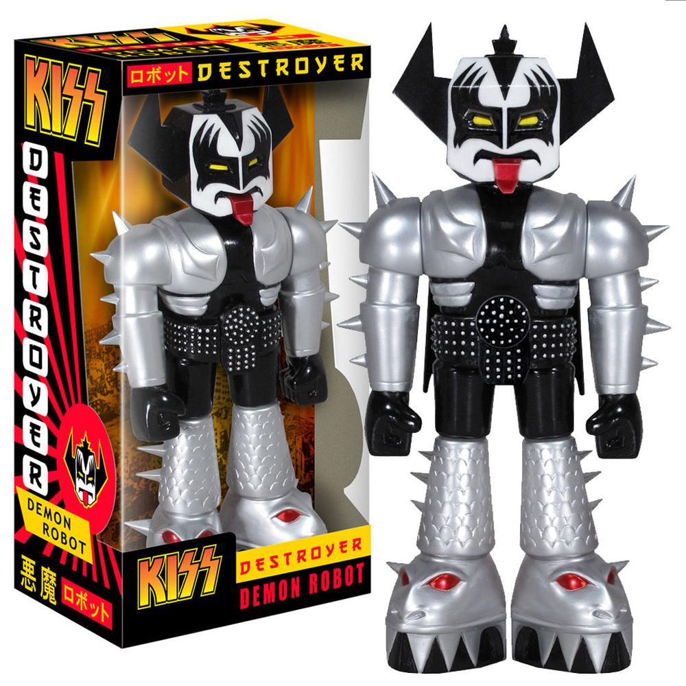 KISS Collectible: 2012 Funko Vinyl Invaders Demon Robot Gene Simmons Figure