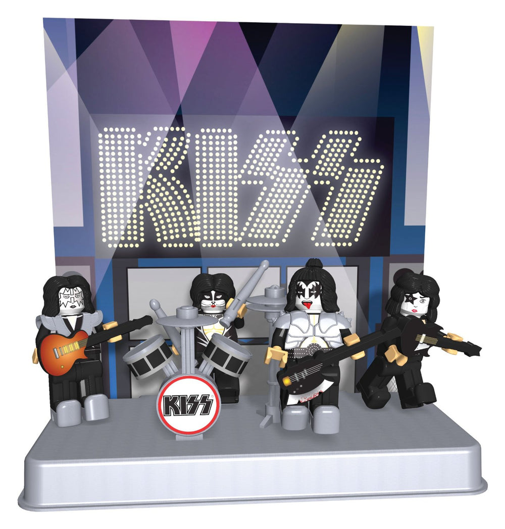 KISS Collectibles 2012 K'NEX Series 1 Figures - Demon Starchild Spaceman Catman