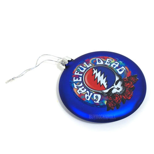 Grateful Dead Collectible: 2014 Kurt Adler Steal Your Face Christmas Ornament
