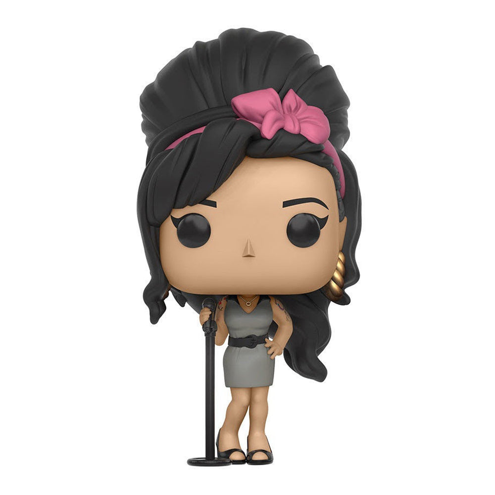 Amy Winehouse Collectible 2016 Funko Pop Rocks! Vaulted Figure #48 - Display Case