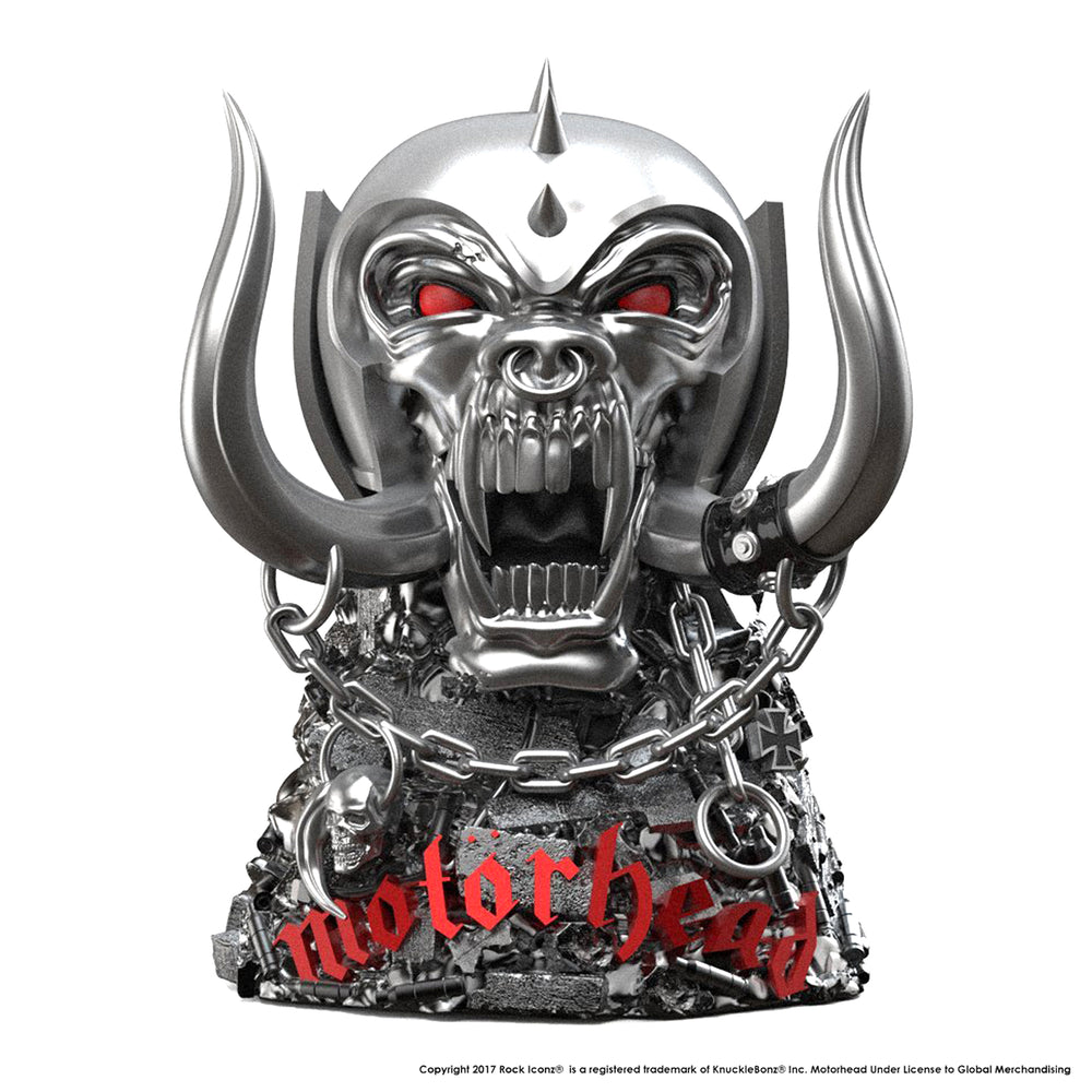 Motorhead Collectible: 2017 KnuckleBonz Rock Iconz Motorhead Warpig Statue