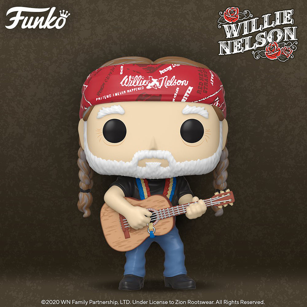 Willie Nelson Handpicked 2020 Funko Pop! Figure Protector Display Case