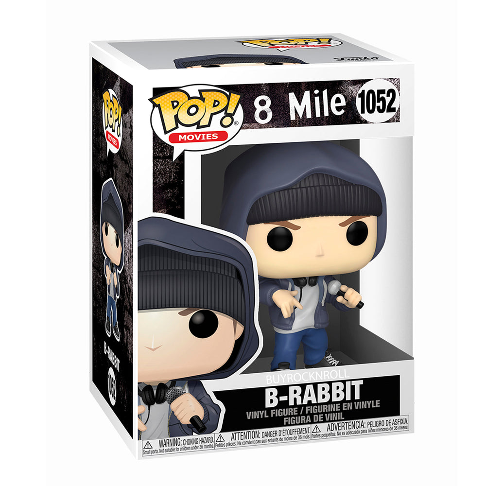 Eminem Collectible 2020 Funko Pop! Rocks 8 Mile Figure in Protector Display Case