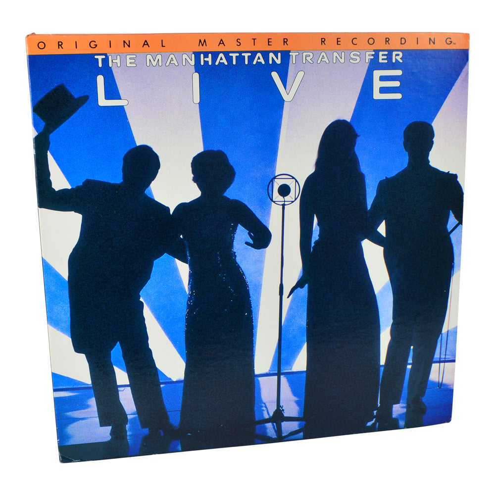 MFSL Collectors: 1979 Mobile Fidelity The Manhattan Transfer Live LP #1-022