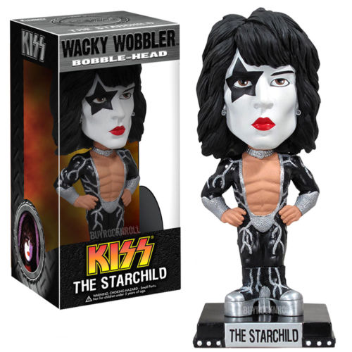 KISS Collectible: 2011 Funko Paul Stanley Starchild Wacky Wobbler Bobble Figure