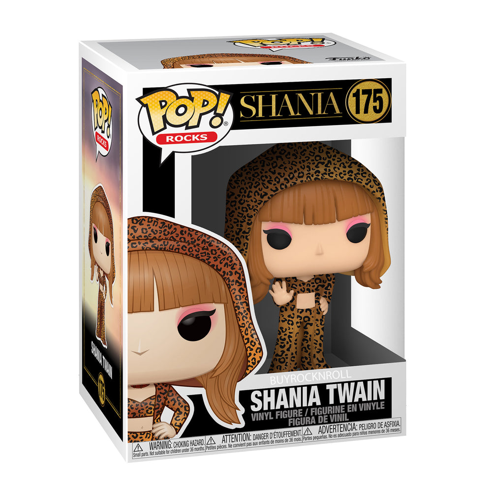Shania Twain 2020 Funko Pop Rocks Queen of Country Pop Figure #175 in Protector