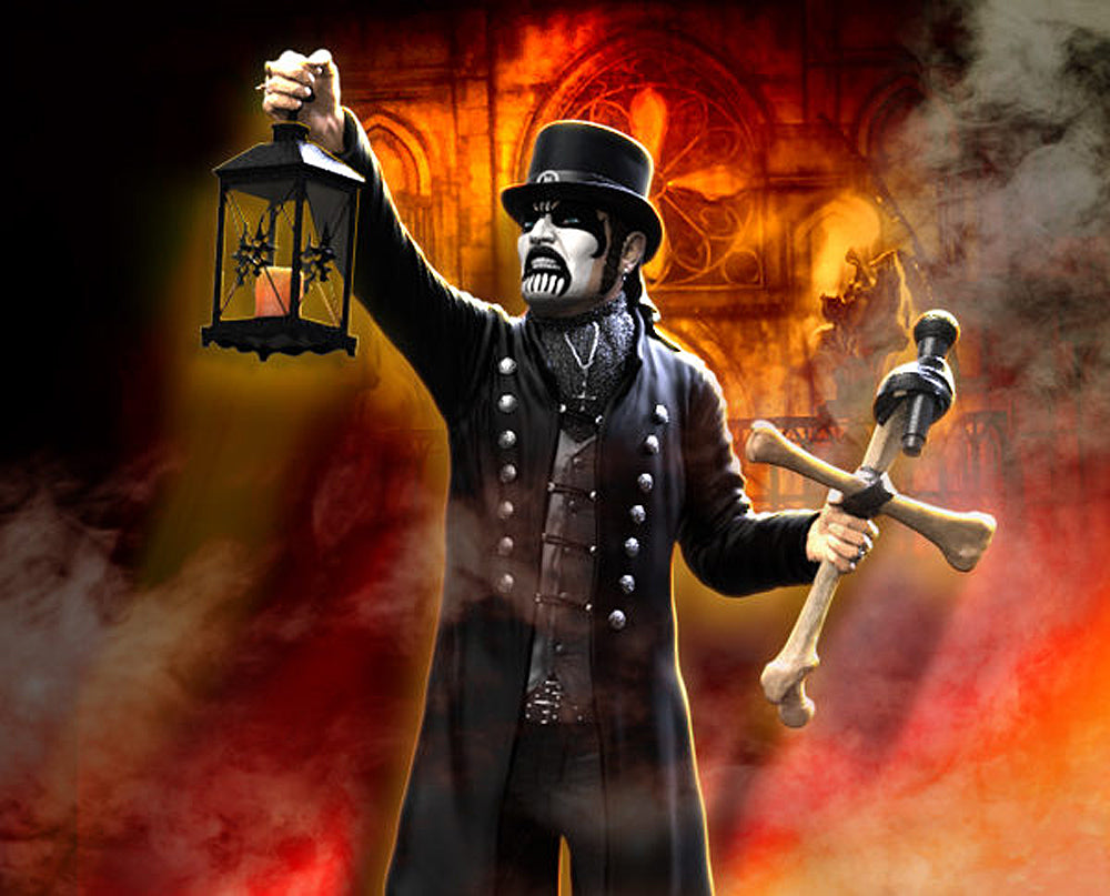King Diamond Collectible: 2018 KnuckleBonz Rock Iconz Statue SOLD ...