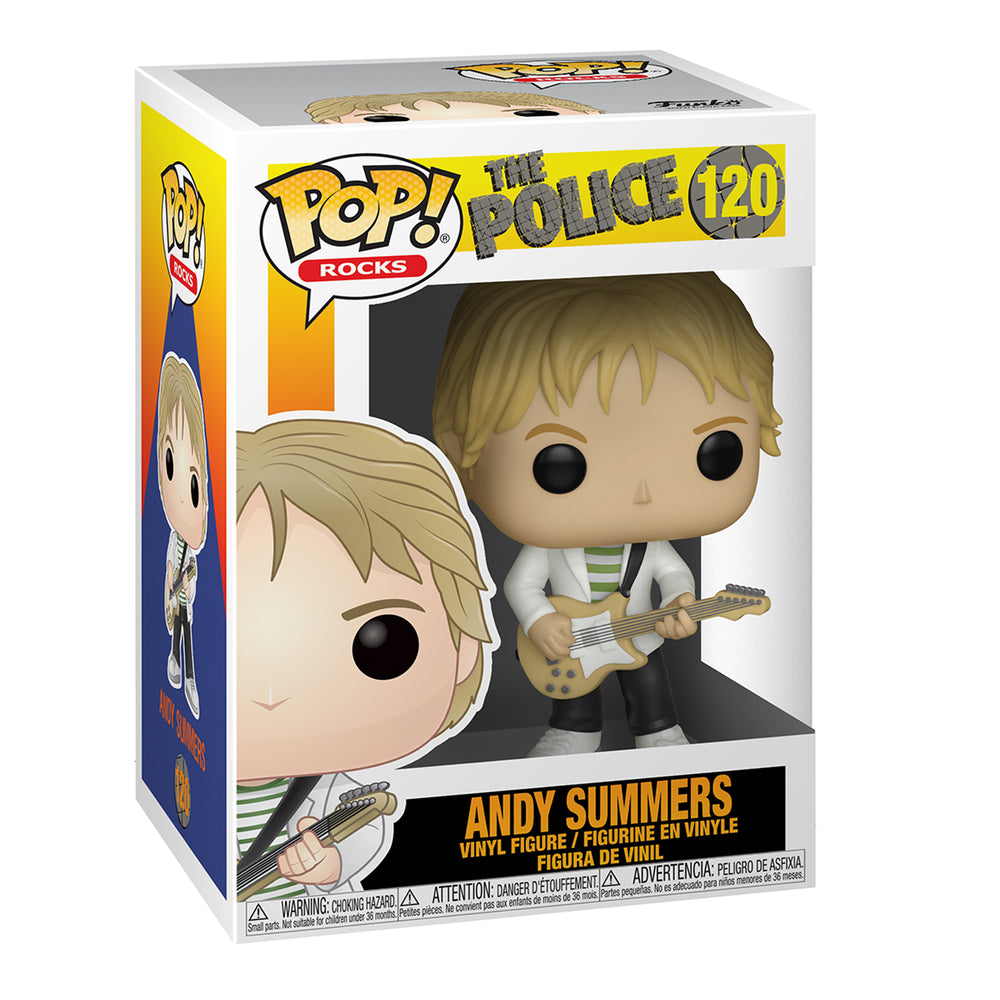 The Police Handpicked 2019 Funko Pop Rocks Figures Set Sting Andy Stewart