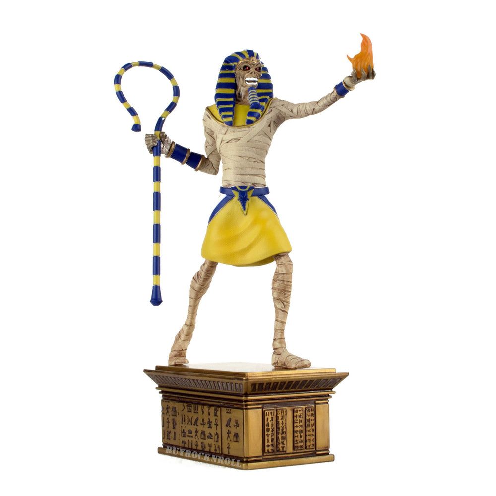 Iron Maiden Collectible: Legacy of the Beast Mummified Pharaoh Eddie Statue Figure