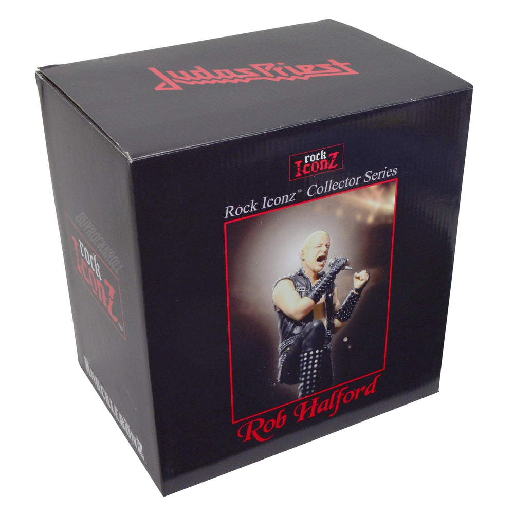Judas Priest Collectible: 2007 KnuckleBonz Rock Iconz Rob Halford Statue