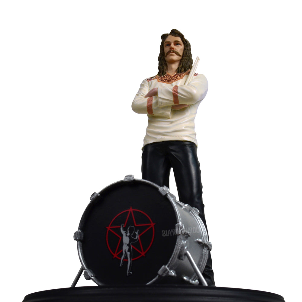 RUSH Collectible 2010 KnuckleBonz Rock Iconz Neil Peart Statue #209 of 3000