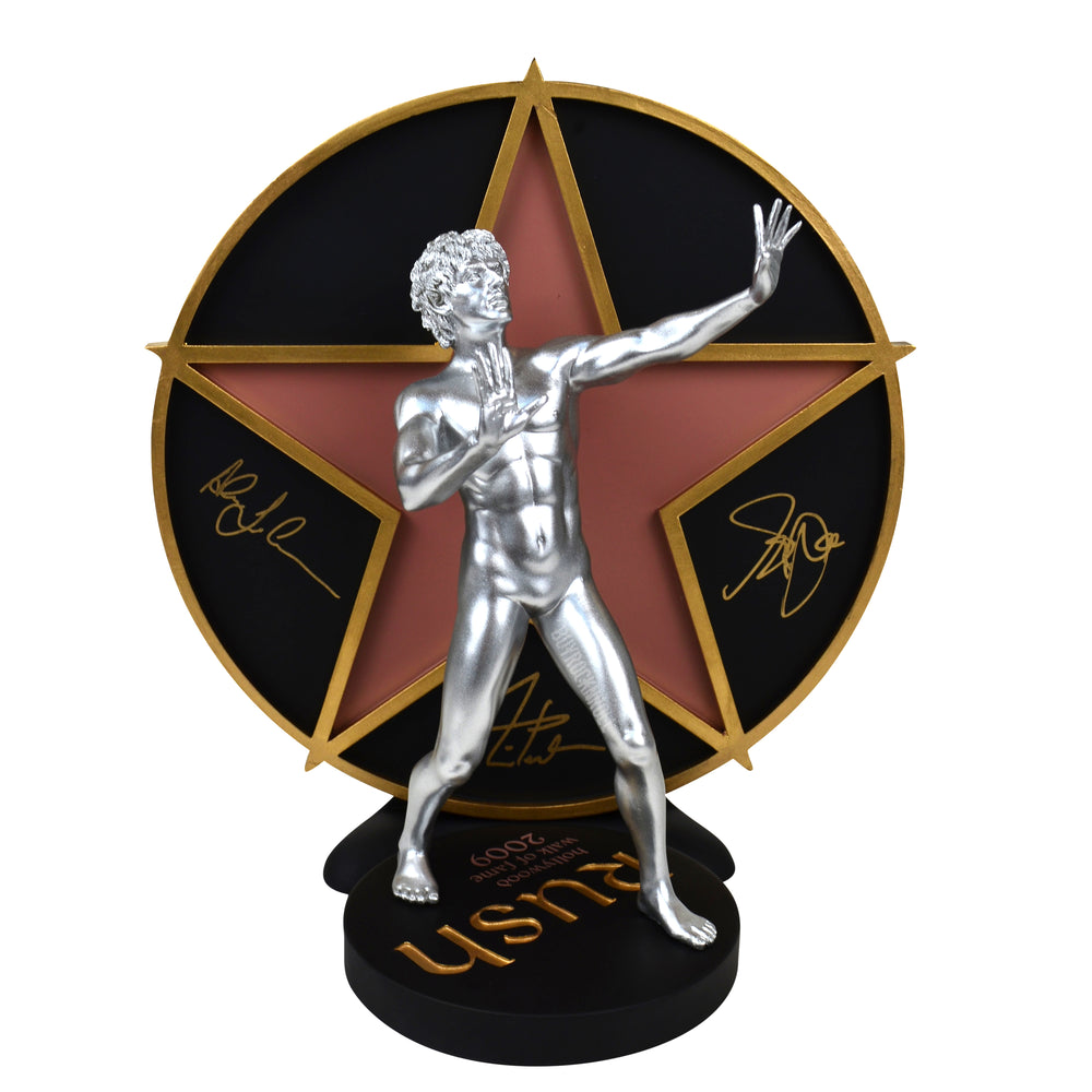 RUSH Collectible: 2009 KnuckleBonz Rock Iconz Hollywood Walk Of Fame Starman Statue