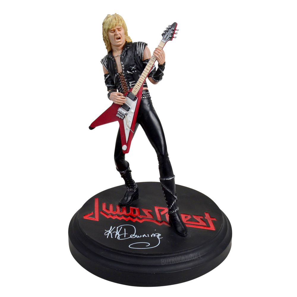 Judas Priest Collectible: 2007 KnuckleBonz Rock Iconz KK Downing Statue #388