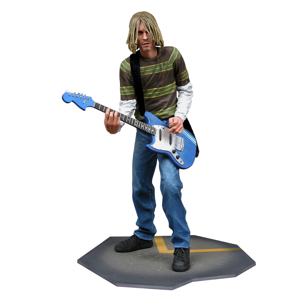 "Nirvana Collectible: NECA 2006 Kurt Cobain Smells Like Teen Spirit 7"" Figure (C5)"