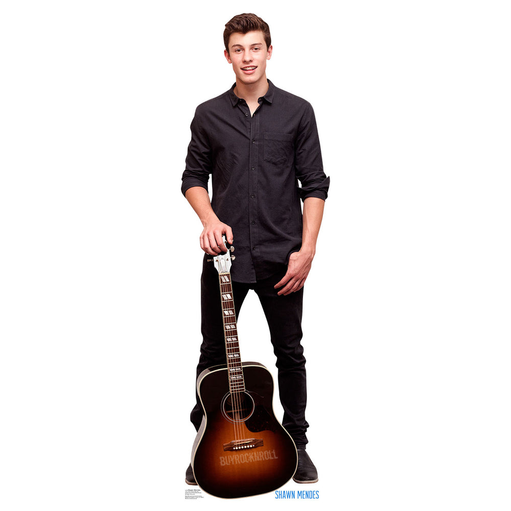 Shawn Mendes Collectible: 2015 Life Size Cardboard Standup Figure