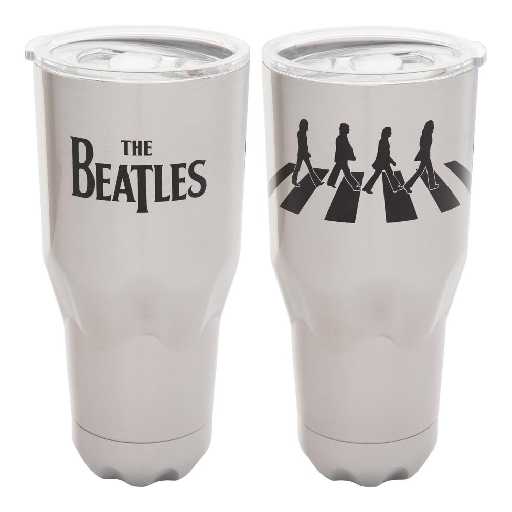 The Beatles Collectible Vandor 2016 Abbey Road Stainless Steel Vacuum Tumbler