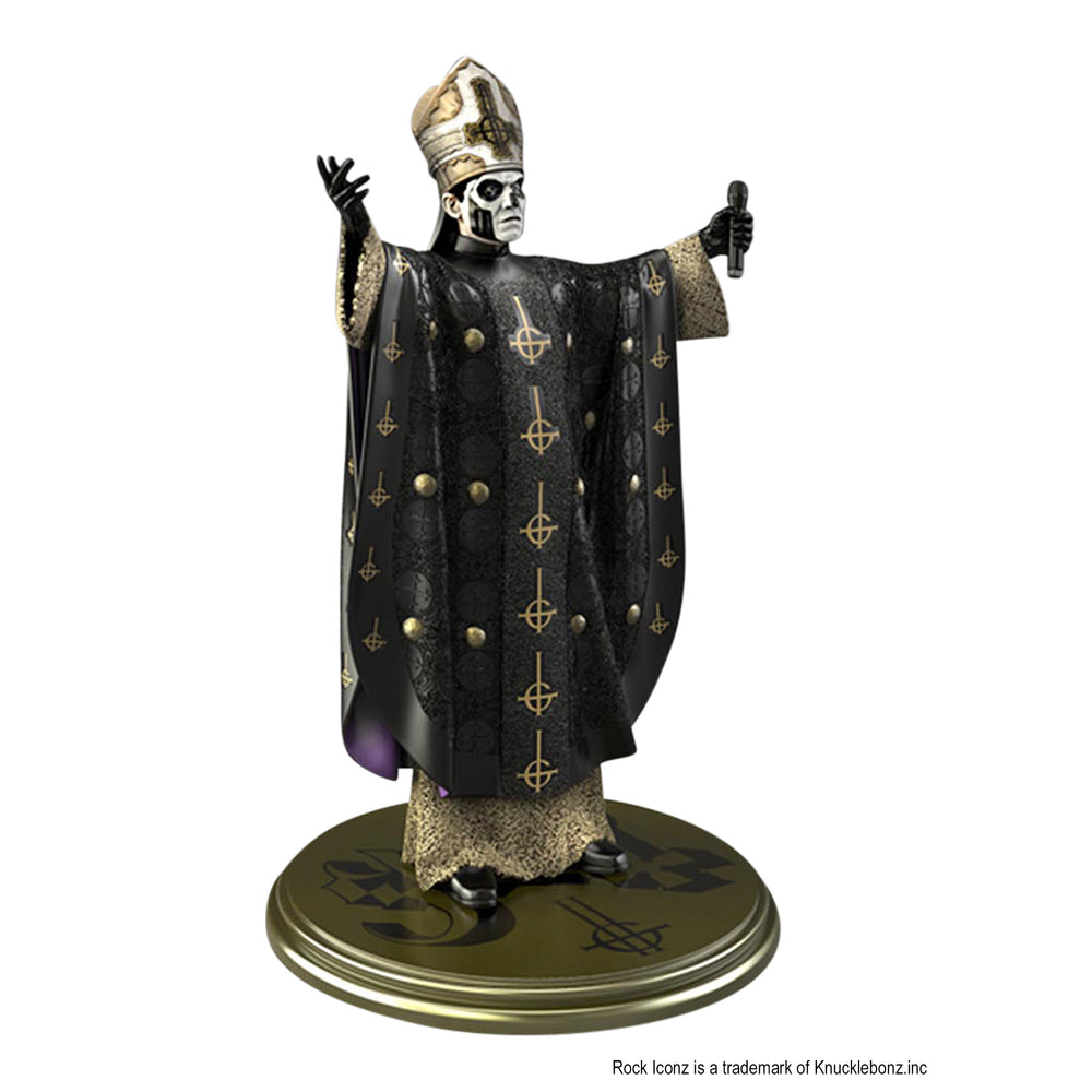 Ghost Collectible: 2018 KnuckleBonz Rock Iconz Papa Emeritus III Statue #325 of 1666