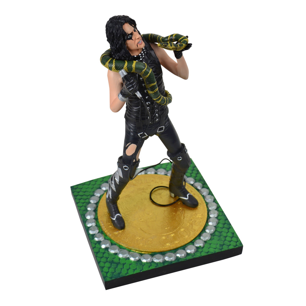 Alice Cooper Collectible 2017 KnuckleBonz Rock Iconz Alice Cooper Snake Statue