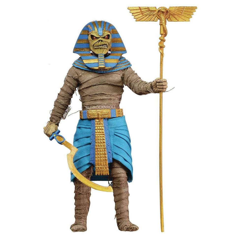 Iron Maiden Collectible 2020 Powerslave Pharaoh Eddie Clothed Figure