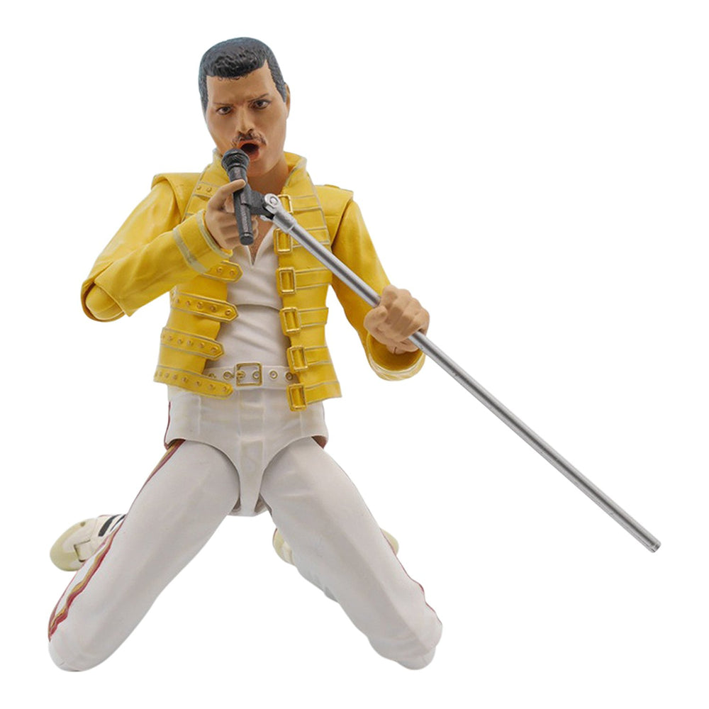 Queen Collectible 2016 Bandai SH Figuarts Freddie Mercury Figure