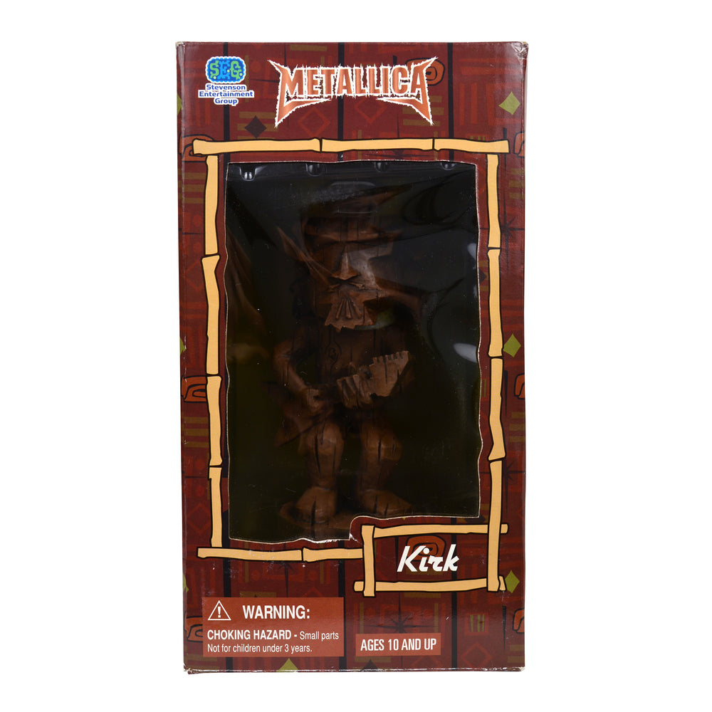 Metallica Collectible 2005 SEG Kirk Hammett Tiki Bobble Head Figure