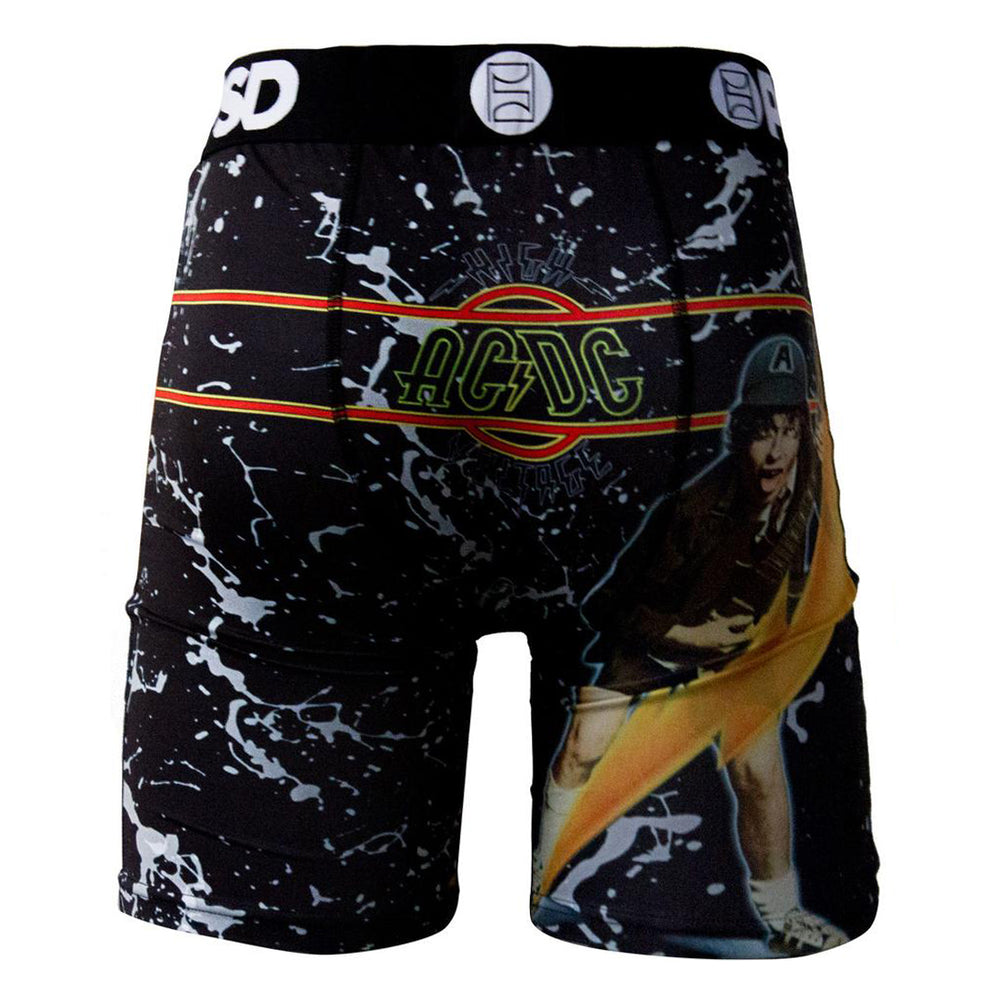 AC/DC 2016 PSD High Voltage LP Artwork Mens Underwear Boxer Brief - XL (Shorts)