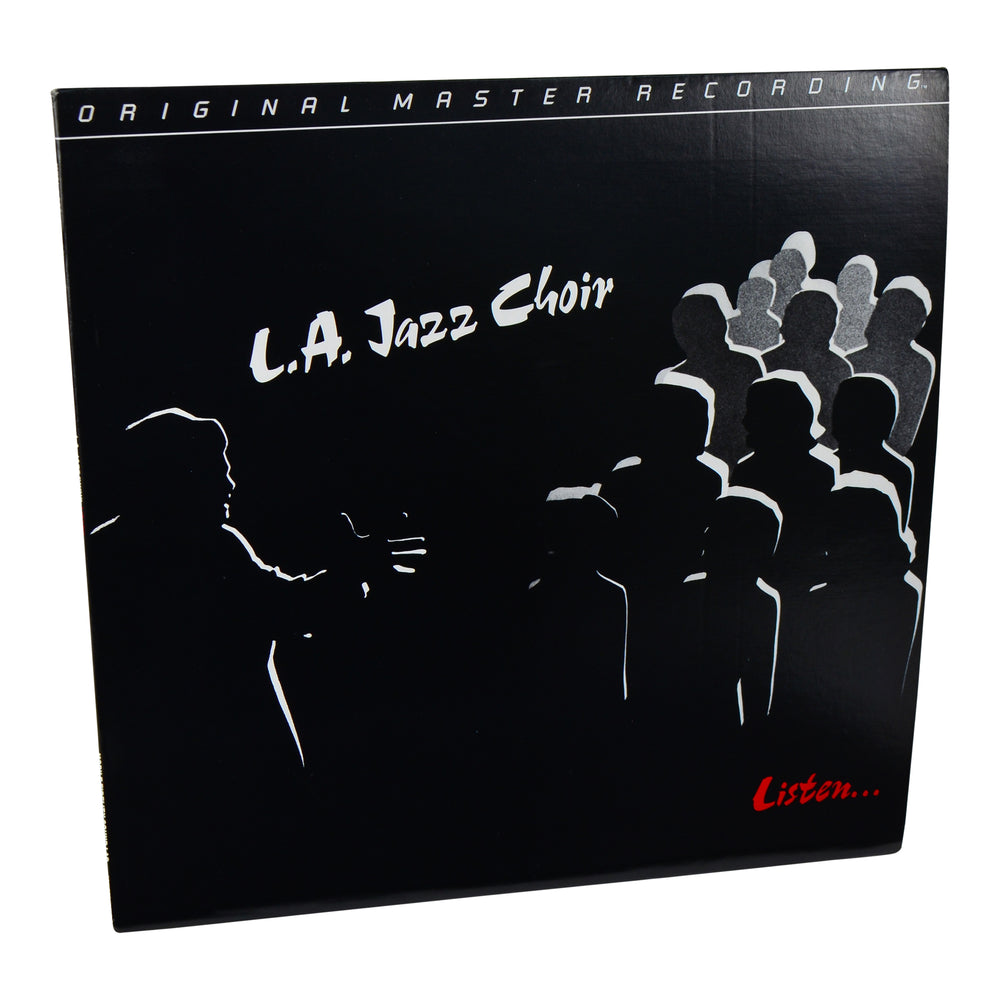 MFSL Collectors: 1983 Mobile Fidelity L.A. Jazz Choir Listen LP #1-096