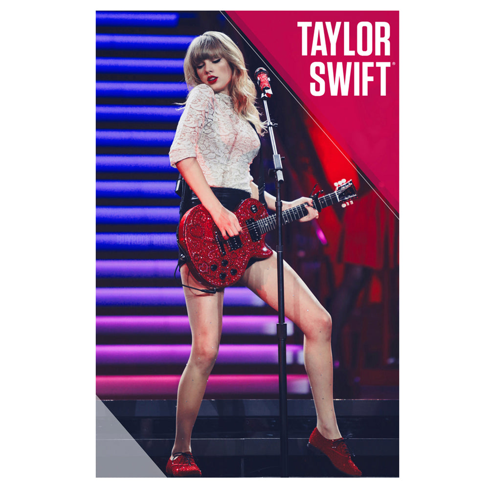"Taylor Swift Collectible 2013 Red Performance on Red Tour 22 x 34"" Poster - OOP"
