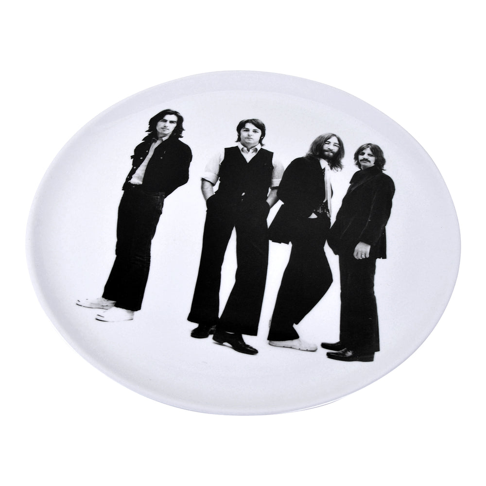 Beatles Collectible: 2014 Kurt Adler 14-Inch Fab Four Photo Melamine Ware Tray