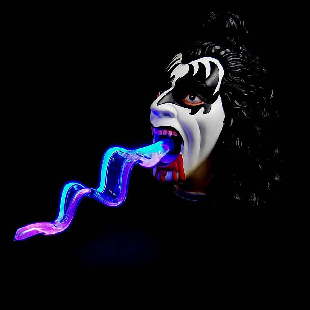 KISS Collectible: 2006 Signature Networks Bloody Demon Gene Simmons Tongue Plasma Light