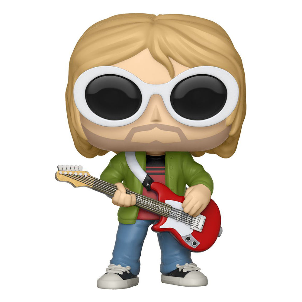 Nirvana Collectible 2018 Funko Shop Exclusive Kurt Cobain Pop! Rocks Figure #64 in Stacks Display