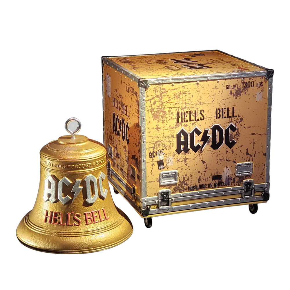 AC/DC Collectible 2020 KnuckleBonz Rock Iconz On Tour Hell's Bells Statue