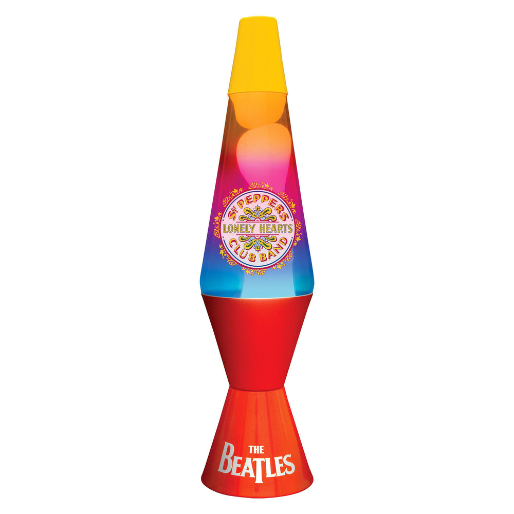 Beatles Collectible: 2015 Lava Lite SGT Pepper Lonely Hearts Club Band Lava Lamp