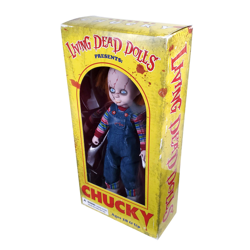 "Bride of Chucky 2012 Mezco Living Dead Dolls Presents: Chucky! Wanna Play? (10"")"