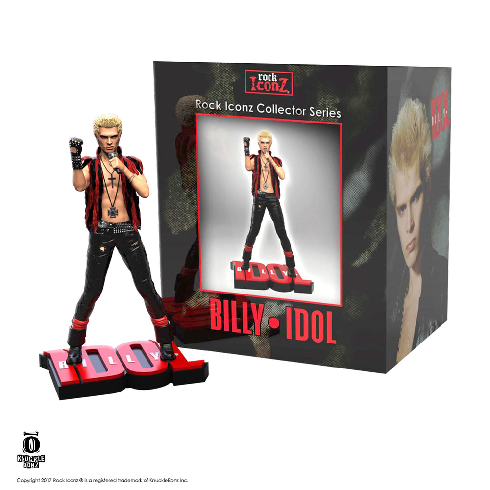 Billie Idol Collectible 2018 KnuckleBonz Rock Iconz Statue