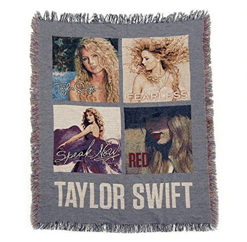 Taylor Swift Rare Collectible: Limited Edition Platinum Album Blanket