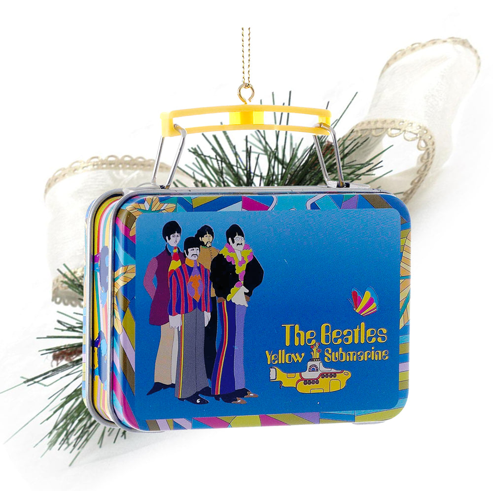 Beatles Collectible:2013 Kurt Adler Yellow Submarine Lunchbox Christmas Ornament