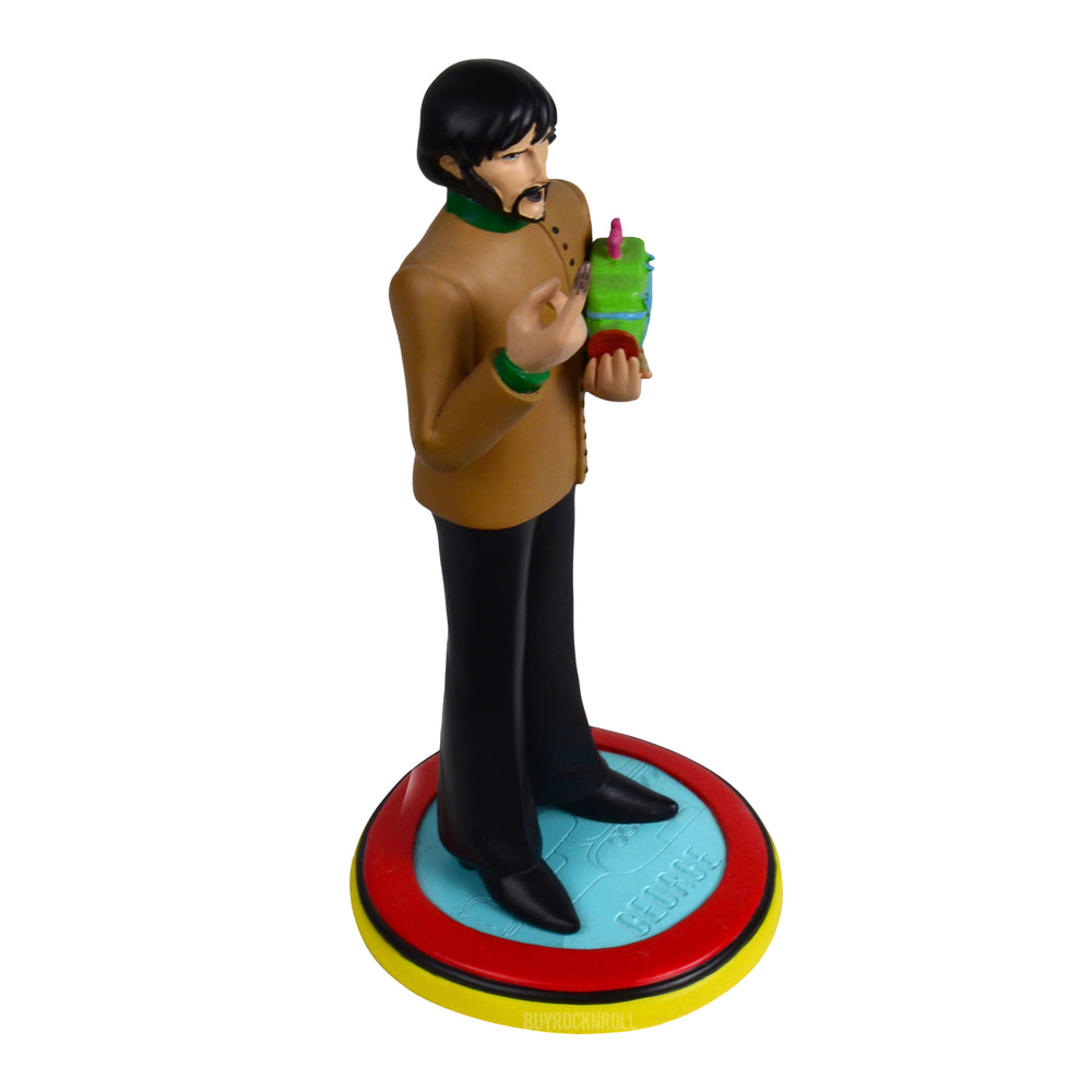 The Beatles Collectible: 2011 Knucklebonz Rock Iconz Yellow Submarine George Harrison Statue
