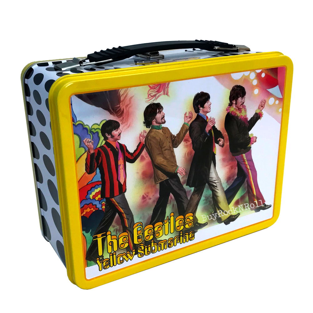 The Beatles 2019 Factory Entertainment Albert Ross Yellow Submarine Tin Tote