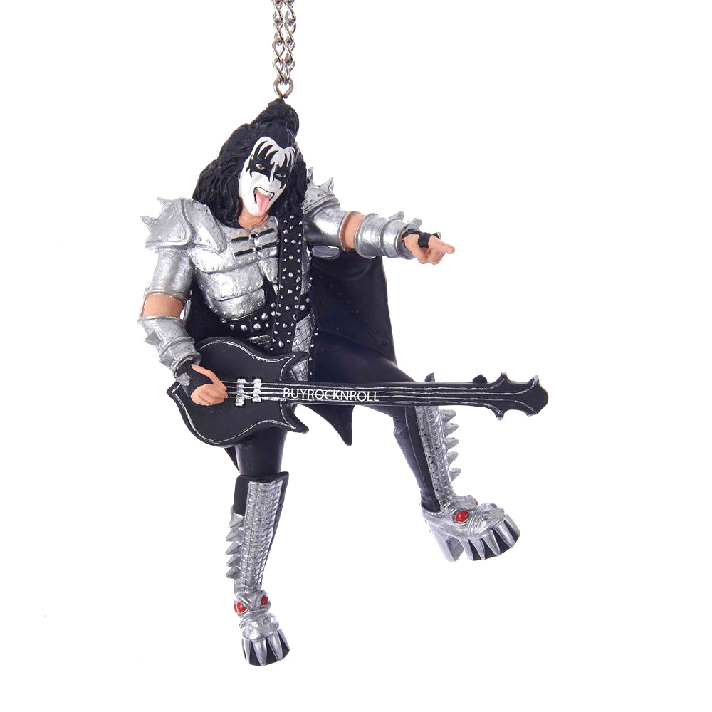 KISS Collectible 2016 Kurt Adler KS2181 Gene Simmons Demon Figure Xmas Ornament