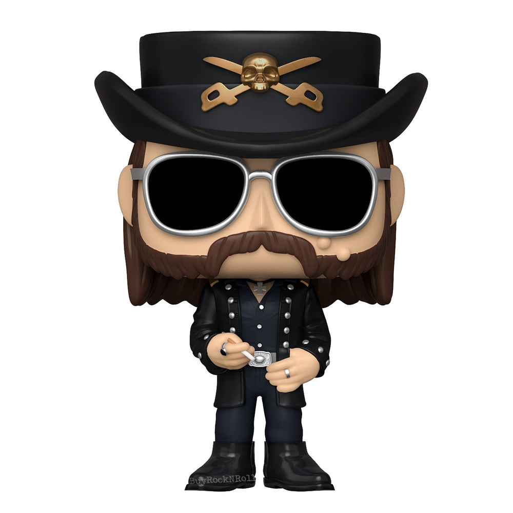 Motorhead 2020 Handpicked Funko Pop Rocks Lemmy Kilmister Figure #170 in Protector